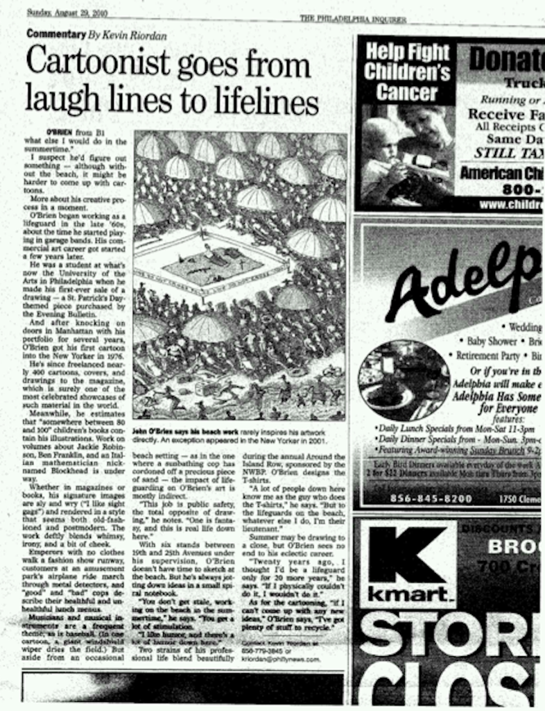 Philadelphia Inquirer August 29, 2000