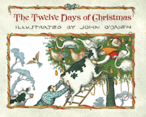 Twelve Days Of Christmas Book.Artwork Covers John O Brien Twelve Days Of Christmas